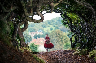 Red-Riding-Hood-running-fairy-forest-castle-film-hd-wallpaper